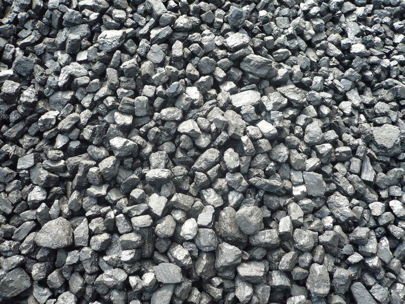 koks uhlí