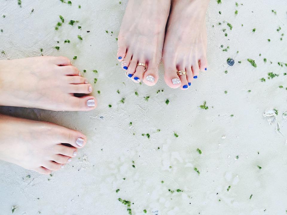zdravé nohy