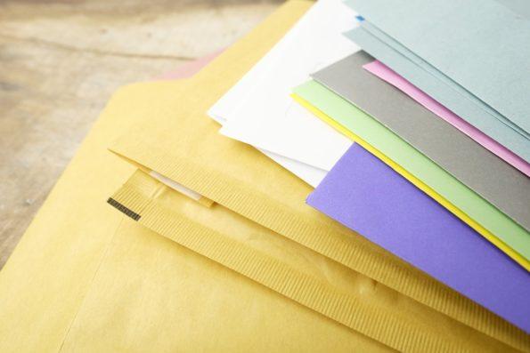 bublinkové obálky, obálky